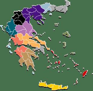 Τοπικά Νέα. Χάρτης Ελλάδας | Newsit.gr