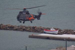 Κέρκυρα: Αναστάτωση σε κρουαζιερόπλοιο – Μεταφορά επιβάτη με ελικόπτερο του πολεμικού ναυτικού!