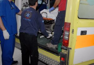 Σύγκρουση δύο αυτοκινήτων με επτά τραυματίες στη Χαλκιδική!