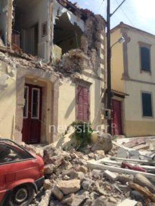 Σεισμός στη Μυτιλήνη: Ισχυρός μετασεισμός ταρακούνησε το νησί