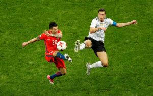 Confederations Cup: Βολική ισοπαλία για Χιλή και Γερμανία [vid]