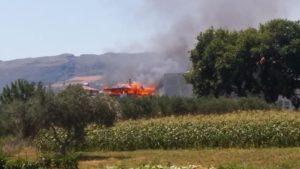 Κρήτη: Μεγάλη φωτιά σε σπίτι