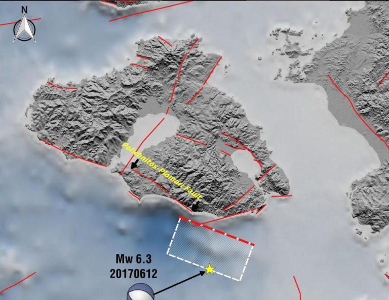 Σεισμός στη Λέσβο: Αυτή είναι η απεικόνιση του ρήγματος [pic] | Newsit.gr