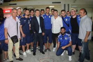 Ρεχάγκελ και Ζαγοράκης στο Ηράκλειο για το «Ελλάδα 2004» – «Inter For Ever»