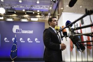 Στις Βρυξέλλες για τη Σύνοδο Κορυφής ο Αλέξης Τσίπρας
