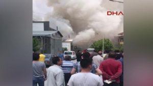 Έκρηξη σε χώρο εργασίας στην Άγκυρα! Υπάρχουν νεκροί