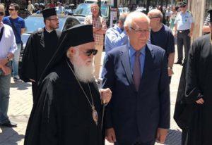 Επίτιμος δημότης Λαρισαίων ανακηρύχτηκε ο αρχιεπίσκοπος Αλβανίας Αναστάσιος