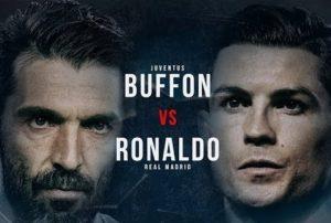 Champions League: Μάχη προσωπικοτήτων! Μπουφόν εναντίον Ρονάλντο [vid]