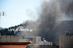 Θεσσαλονίκη: Φωτιά σε τουριστικό λεωφορείο γεμάτο κόσμο! [pics, vid]