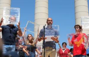 Μανιφέστο Γκουαρδιόλα σε συγκέντρωση Καταλανών για την ανεξαρτησία!  [pics]