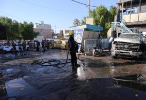 Ιράκ: Τουλάχιστον 20 νεκροί από επίθεση καμικάζι – Το Ισλαμικό Κράτος ανέλαβε την ευθύνη