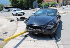 Στο κέντρο υγείας Καλαμπάκας ο Αλέξης Κούγιας μετά από τροχαίο! [pics]