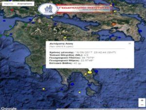Σεισμός 4,9 Ρίχτερ ταρακούνησε τη Λακωνία!