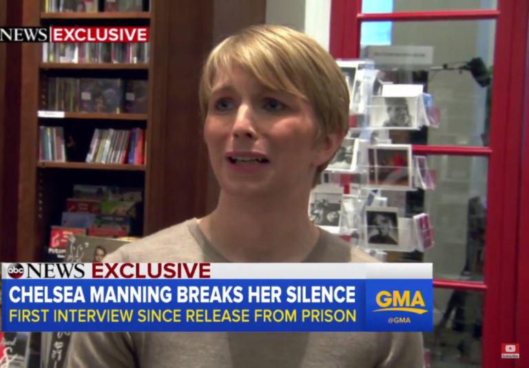 Τσέλσι Μάνινγκ: Ευχαριστεί με δάκρυα στα μάτια τον Μπαράκ Ομπάμα! [vid]