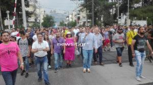 Μενίδι: Νέα συγκέντρωση κατοίκων κατά της εγκληματικότητας των Ρομά