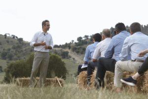 Κυριάκος Μητσοτάκης: Ολοκλήρωσε την περιοδεία του στη Θεσσαλία [pics]