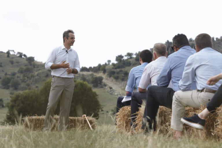 Κυριάκος Μητσοτάκης: Ολοκλήρωσε την περιοδεία του στη Θεσσαλία [pics] | Newsit.gr