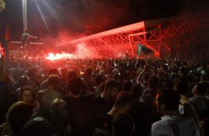 Παναθηναϊκός: Ιστορική υπόδοχη! 20.000 οπαδοί «έκαψαν» το ΟΑΚΑ  [pics, vids]
