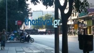 Θεσσαλονίκη: Πορεία αντιεξουσιαστών με αφορμή εκδήλωση της Χρυσής Αυγής