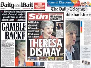 Βρετανία: Τερέζα, έπαιξες κι έχασες! «Φαρμάκι» ο βρετανικός Τύπος! [pics]