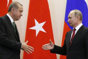 «Άνοιγμα» Πούτιν σε Ερντογάν για το φυσικό αέριο