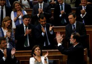 Καταψηφίστηκε η πρόταση μομφής των Podemos κατά του Ραχόι
