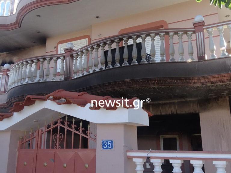 Μενίδι: Αυτό είναι το σπίτι που έκαψαν στα επεισόδια! Πήγαν στοχευμένα [pics] | Newsit.gr