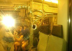 Μενίδι: Σφαίρες έπεσαν πάνω σε τρένο με προορισμό τη Χαλκίδα! [pic]