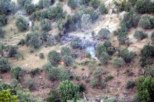 PKK: «Οι Τούρκοι λένε ψέματα – Εμείς καταρρίψαμε το στρατιωτικό αεροσκάφος»