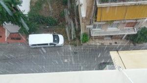 Καιρός: Καλό χειμώνα! Χαλάζι και σφοδρές καταιγίδες στην Αττική! [pics]