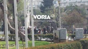 Θεσσαλονίκη: Εθνικιστές, αντιεξουσιαστές και πορεία για τα θύματα του Ολοκαυτώματος – Δρακόντεια τα μέτρα ασφαλείας [pics, vids]