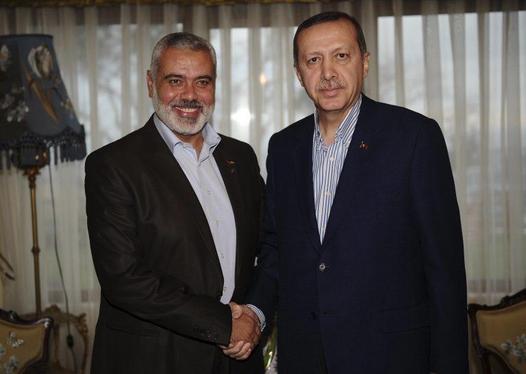 Με τον ηγέτη της Χαμάς συναντήθηκε ο Ερντογάν   Newsit.gr