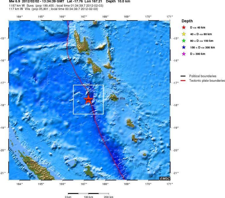 Σεισμός 6,9 ρίχτερ στον Ειρηνικό Ωκεανό | Newsit.gr