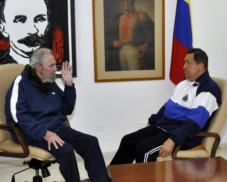 Φωτογραφίες του Τσάβες μετά την εγχείρηση – Συναντήθηκε με τον Φ. Κάστρο   Newsit.gr