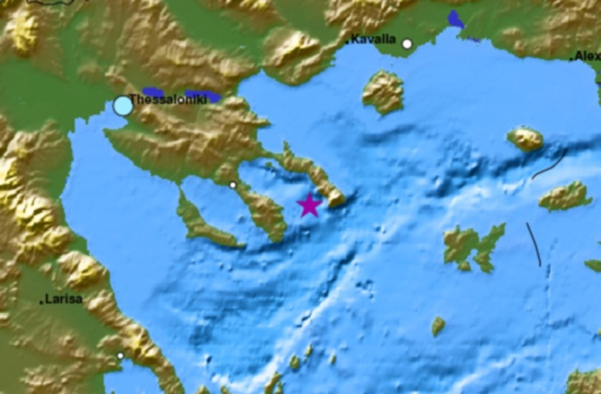 Ισχυρός σεισμός 5 Ρίχτερ στη Χαλκιδική | Newsit.gr