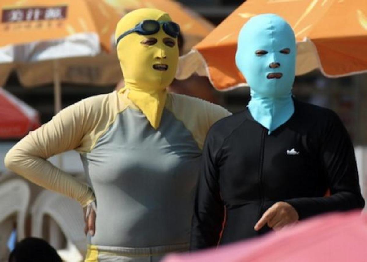 Facekini! Το νέο… OMG trend που κάνει θραύση στην Κίνα! | Newsit.gr