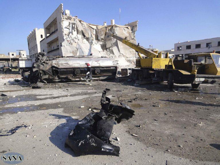 Συρία: 17 νεκροί μετά απο βομβαρδισμό της Ντεράα | Newsit.gr
