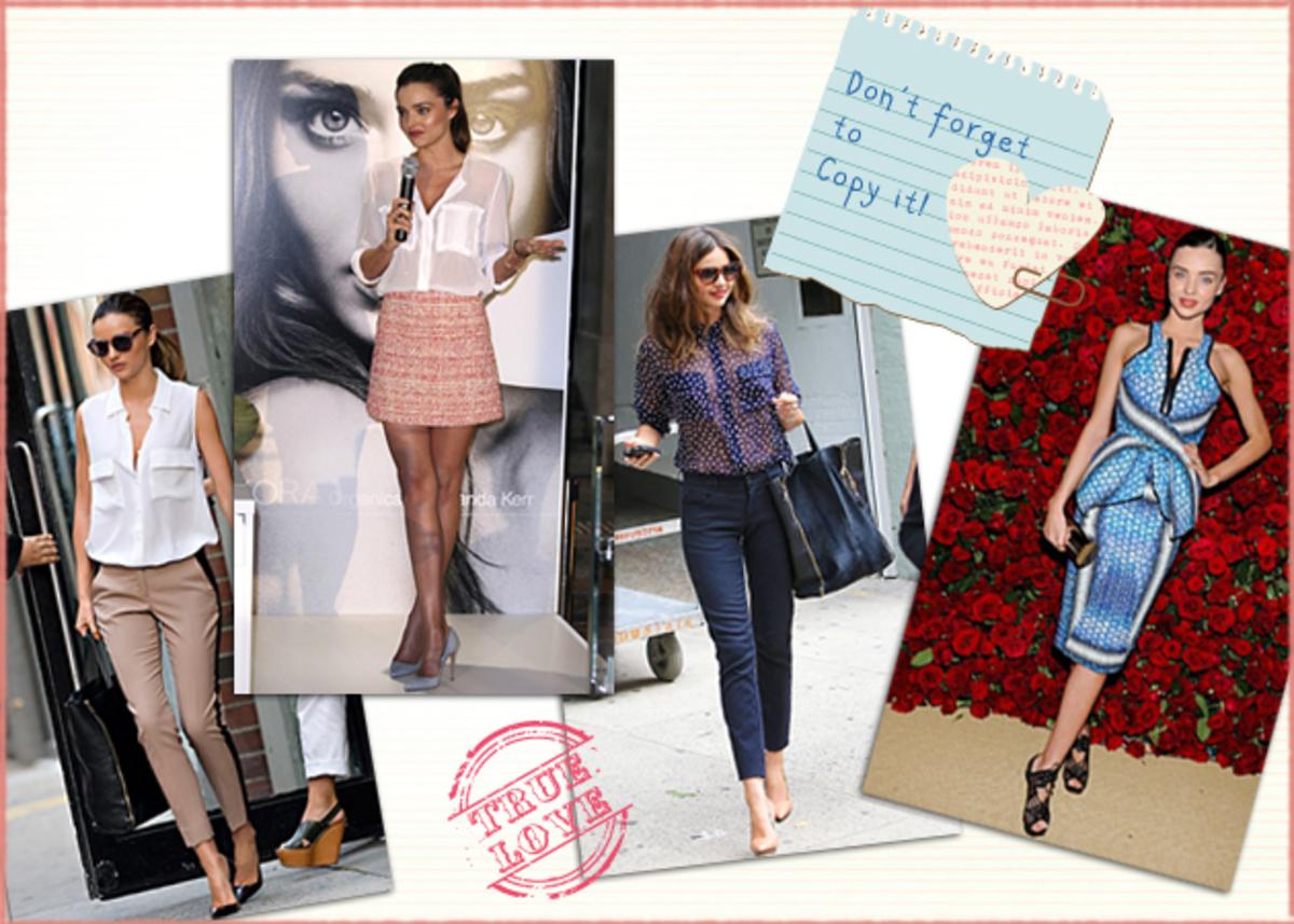 Tα 10 looks της Miranda Kerr που λατρέψαμε και θέλουμε να κάνουμε κι εμείς! Eσύ; | Newsit.gr
