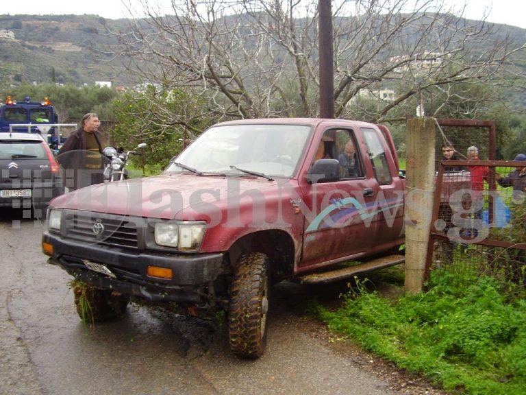 Χανιά: Καταδίωξη και πυροβολισμοί σε δρόμους και χωράφια -Δείτε φωτό! | Newsit.gr