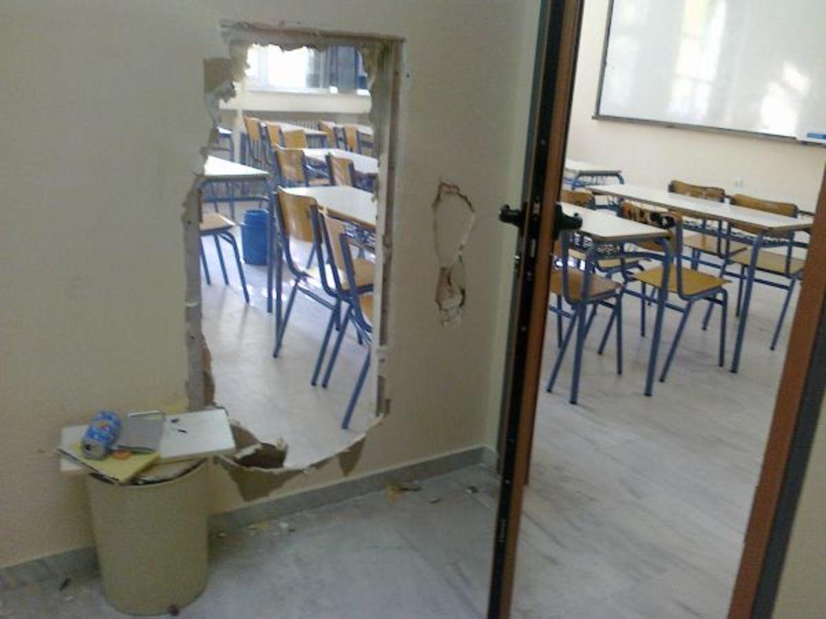Φθιώτιδα: Σχολείο »βομβαρδισμένο» από καταληψίες – Δείτε φωτό! | Newsit.gr