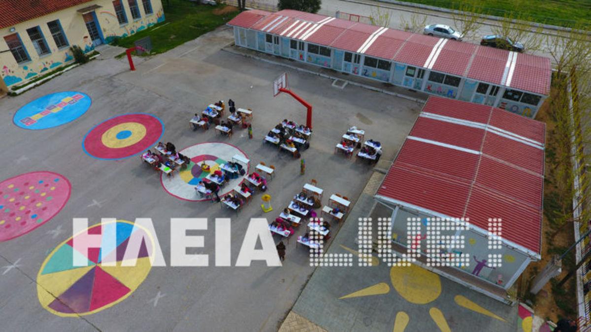 Ηλεία: Παιδεία για κλάματα – Εικόνες ντροπής σε δημοτικό σχολείο της Μανωλάδας [pics, vid]
