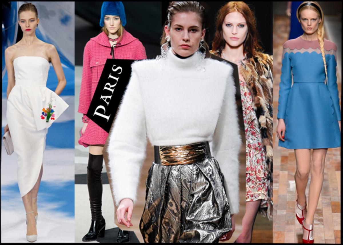 Όλα όσα έδειξαν οι μεγάλοι οίκοι στο Paris Fashion Week για τον επόμενο χειμώνα! | Newsit.gr