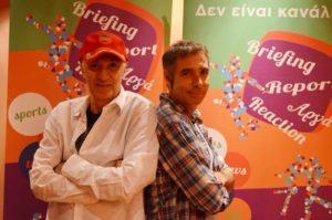 """Νίκος Μαστοράκης: """"Ο Αθερίδης είναι ο καλύτερος συνεργάτης που είχα ποτέ""""!"""