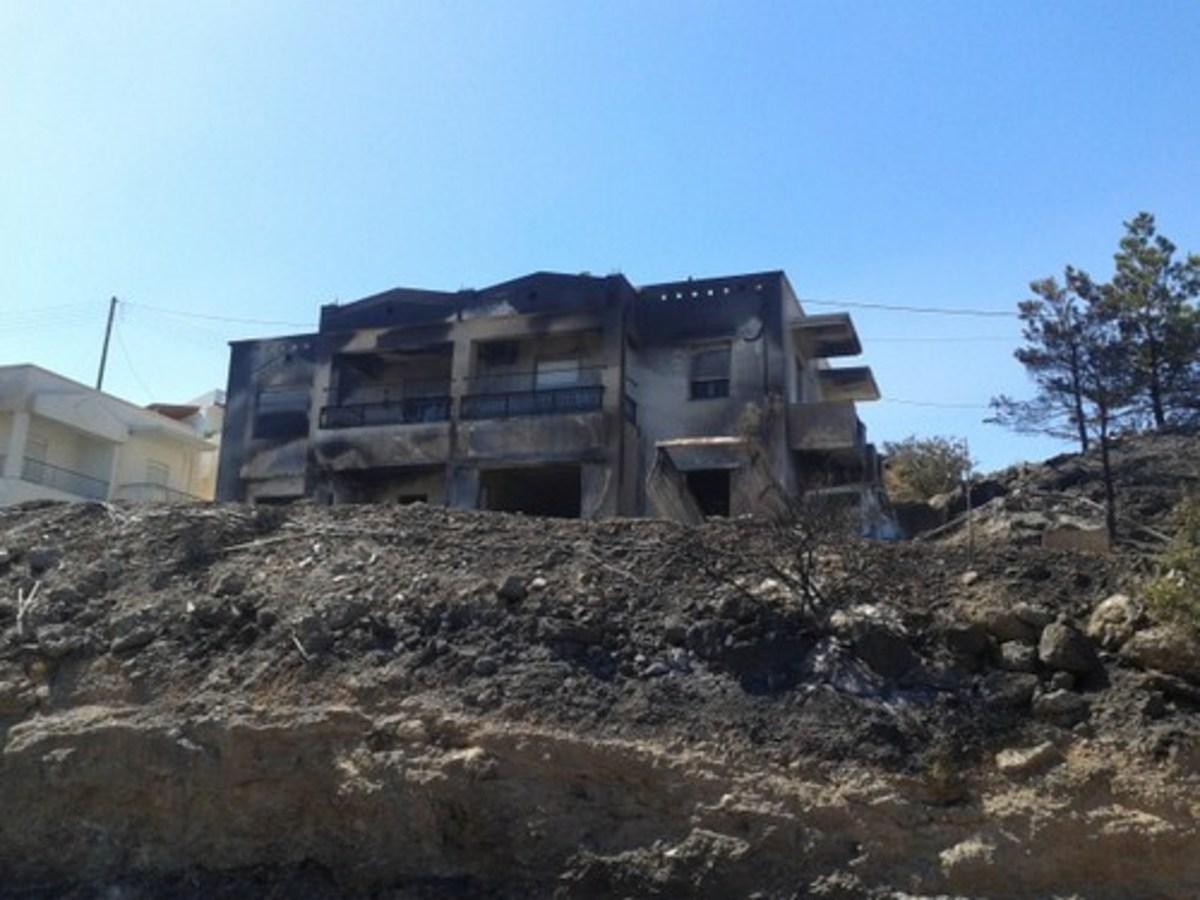 Λασίθι: Εικόνες καταστροφής, μια μέρα μετά τη φωτιά – Δείτε φωτογραφίες! | Newsit.gr