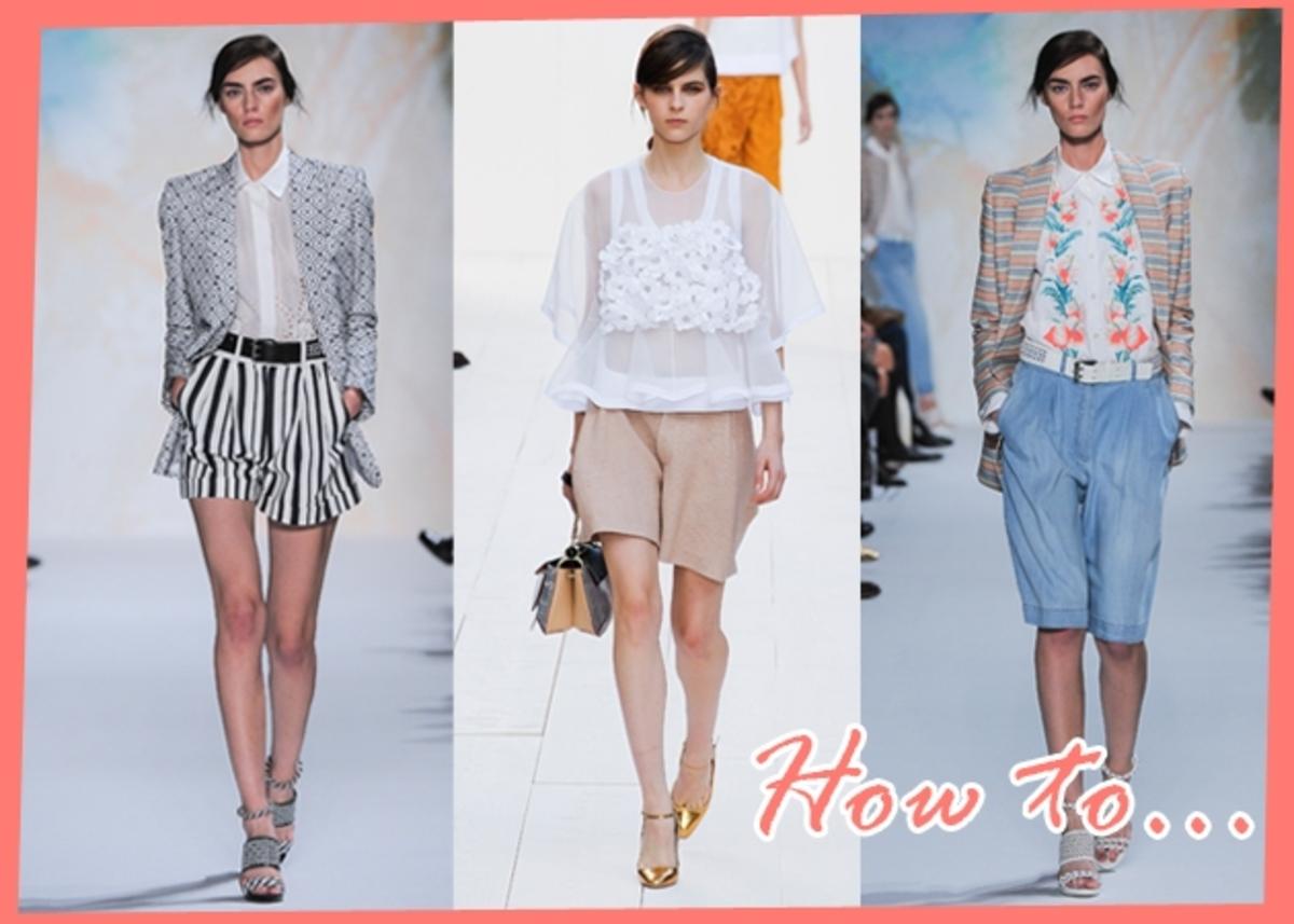 Πως να φορέσεις το σορτσάκι, τη ζιπ κιλότ, τη βερμούδα! Τι να προσέξεις, τι παπούτσια να επιλέξεις | Newsit.gr