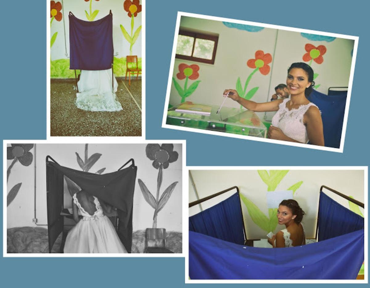 Γιάννενα: Η νύφη δεν πήγε κατευθείαν στην εκκλησία – Δείτε τη γλυκιά Αθηνά που κάνει θραύση στο facebook! | Newsit.gr