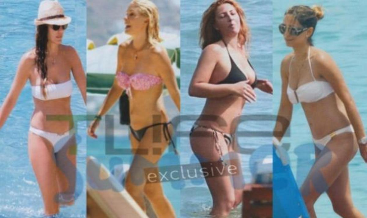 Όταν οι  Ελληνίδες celebrities βγαίνουν με μαγιώ στην παραλία!   Newsit.gr