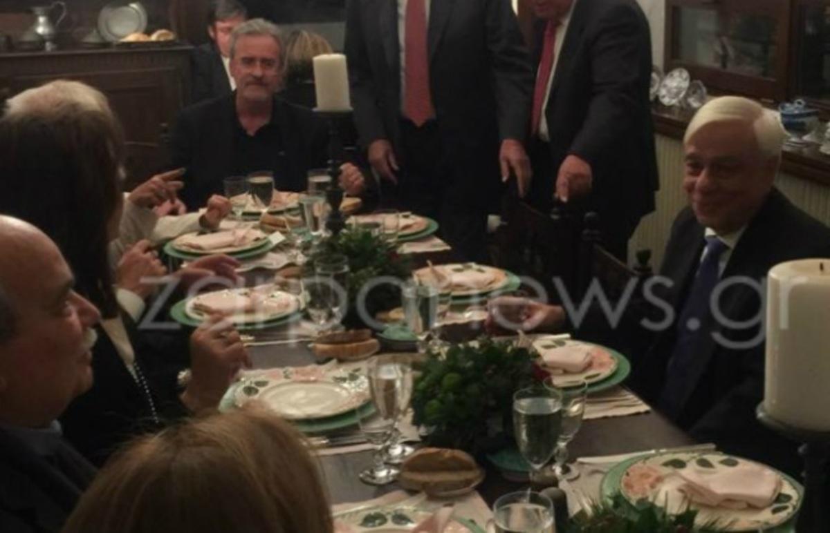 Κρήτη: Οι μεζέδες της Ντόρας Μπακογιάννη – Δείπνο στη βίλα του Κωνσταντίνου Μητσοτάκη [pics] | Newsit.gr