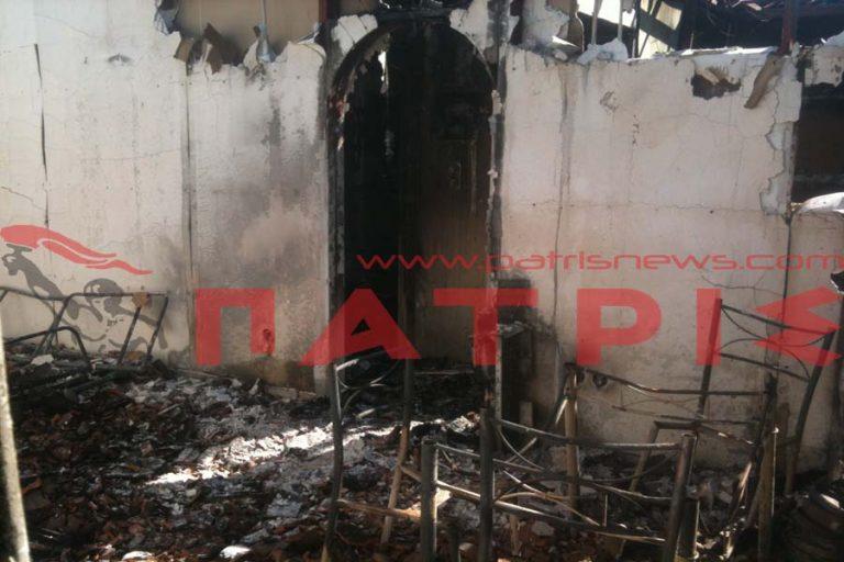 Πύργος: Ειδοποιήθηκαν τηλεφωνικά, ότι το σπίτι τους έγινε στάχτη! | Newsit.gr