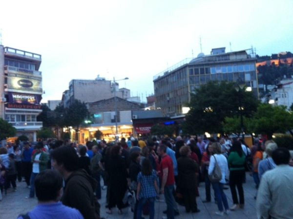 Χλιαρή η προσέλευση των «αγανακτισμένων» στη Λαμία   Newsit.gr